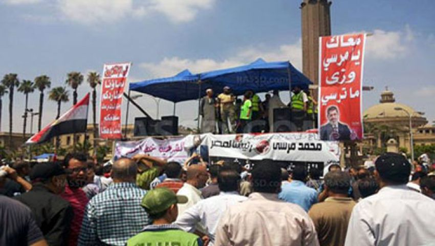 تعليق العمل بمجلس الدولة بسبب اعتصام النهضة