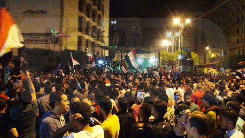 احتفال منوفي بانحياز الجيش للشعب