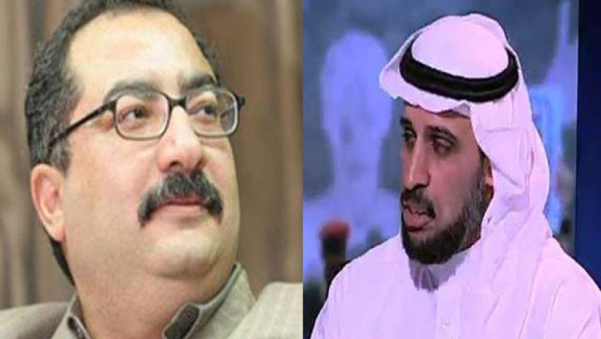 معارض سعودي لإبراهيم عيسى: لا تسامح وقت الحرب