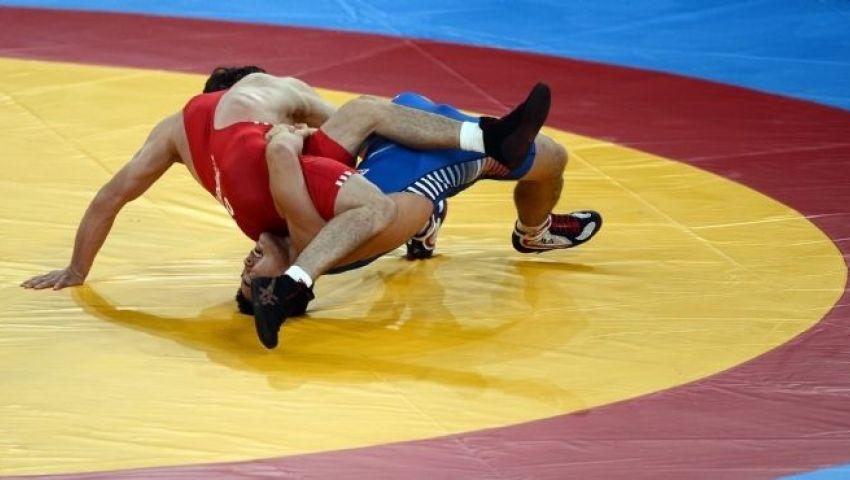 مصر تحرز برونزيتين بمنافسات المصارعة الرومانية