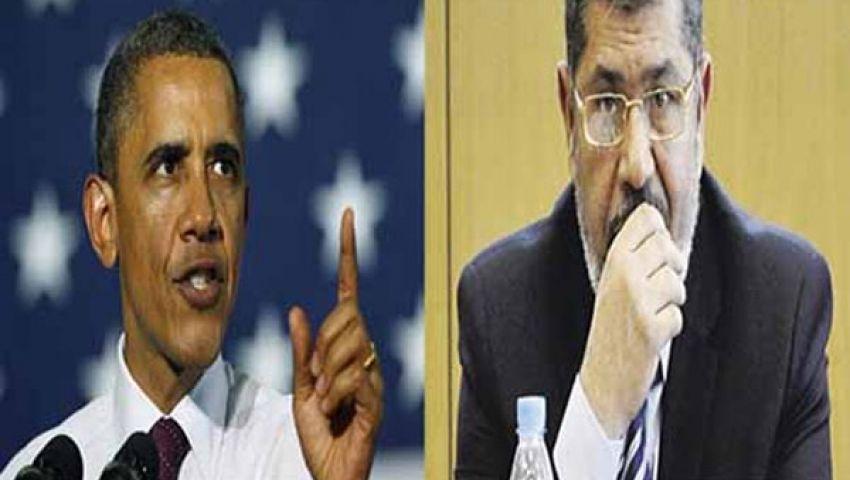 أوباما يحذر الجيش المصري من الانقلاب على مرسي