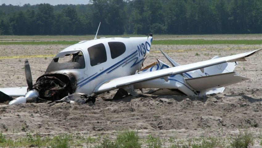 مصرع شخصين في سقوط طائرة صغيرة بألمانيا