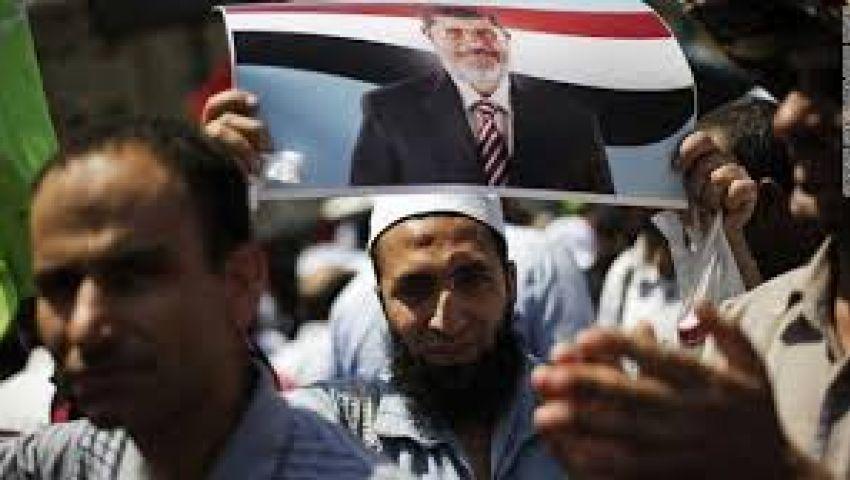 متظاهرو الشرعية بأطفيح يعلنون اعتصامًا مفتوحًا