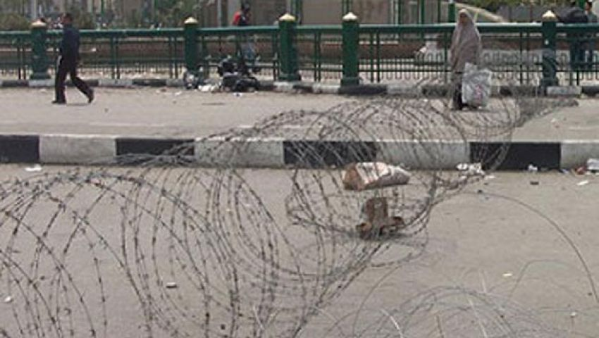 إغلاق مداخل ميدان التحرير أمام حركة المرور