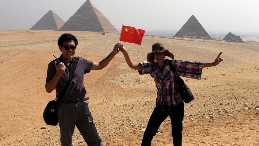 """""""شينخوا"""": زيادة التدفقات السياحية من الصين لمصر"""