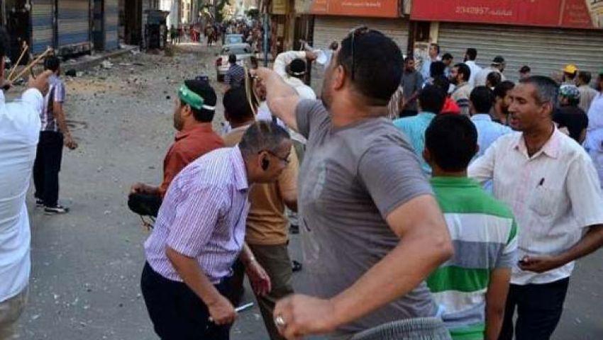 ضبط 13 في اشتباكات بين مؤيدي مرسي ومعارضيه