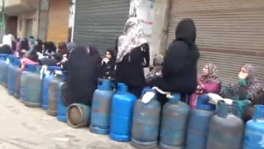 بورصة أنبوبة الغاز ترتفع إلى 50 جنيهًا بكفر الشيخ