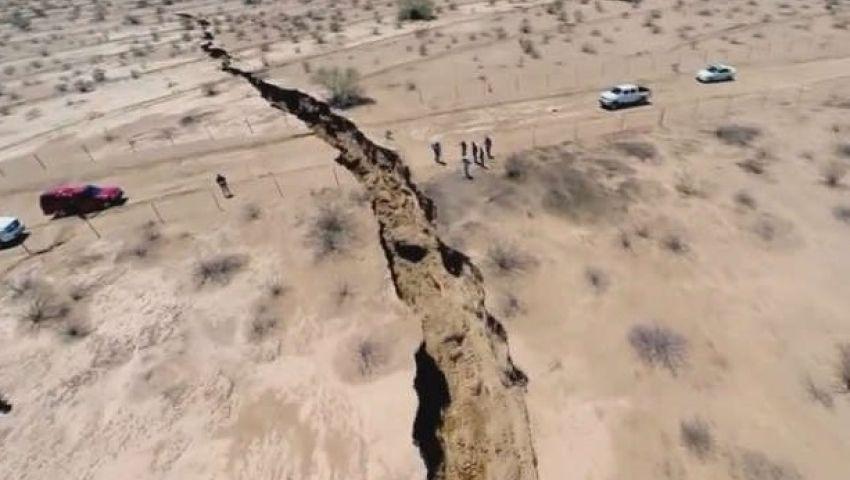 فيديو.. تصدع أرضي بالمكسيك يثير رعب المواطنين