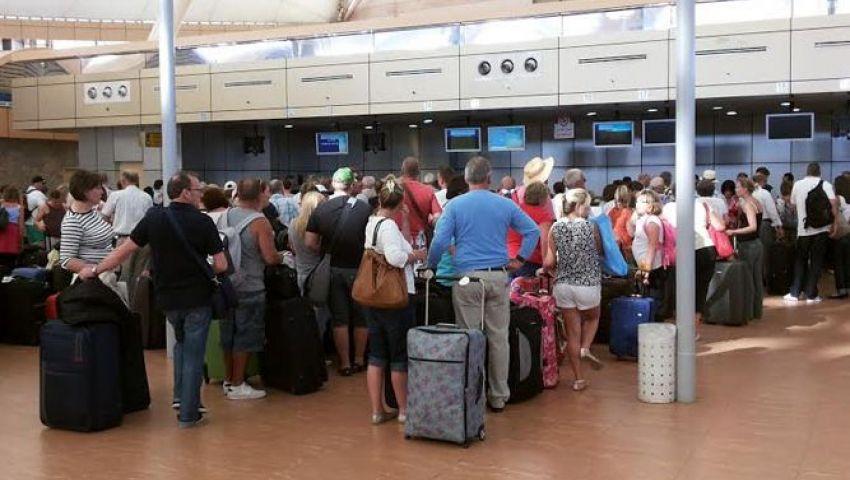 41.9 % انخفاض في عدد السياح الوافدين لمصر خلال يوليو