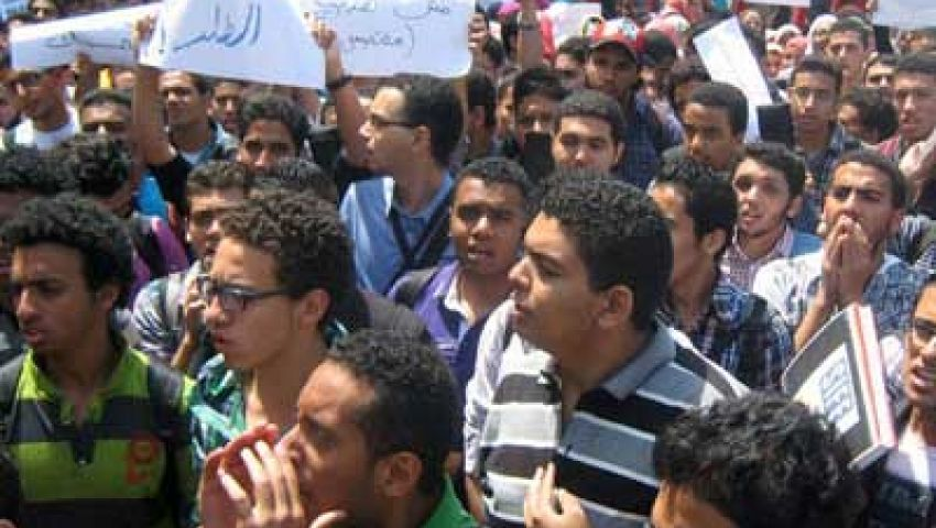طلاب مصر يعلنون موقفهم من خارطة الطريق غدًا