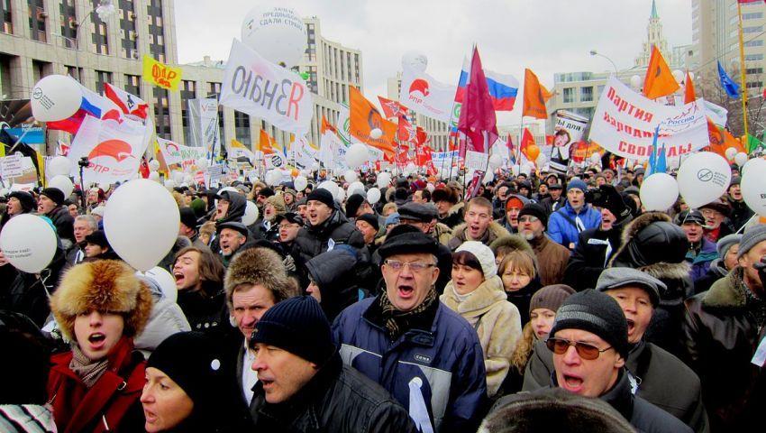 توقيف 500 شخص في مظاهرات للمعارضة بروسيا