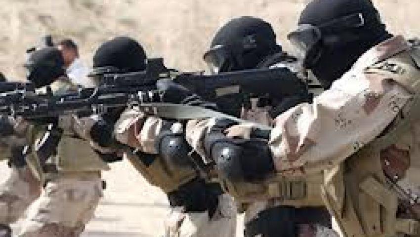 مقتل 6 مسلحين فى حملة أمنية جنوب العريش