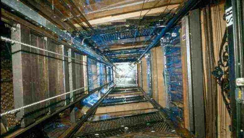 سقوط مصعد بمستشفى جامعة المنصورة