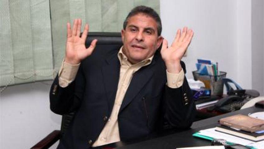 طاهر أبوزيد يسحب أوراق ترشحه لرئاسة الأهلي