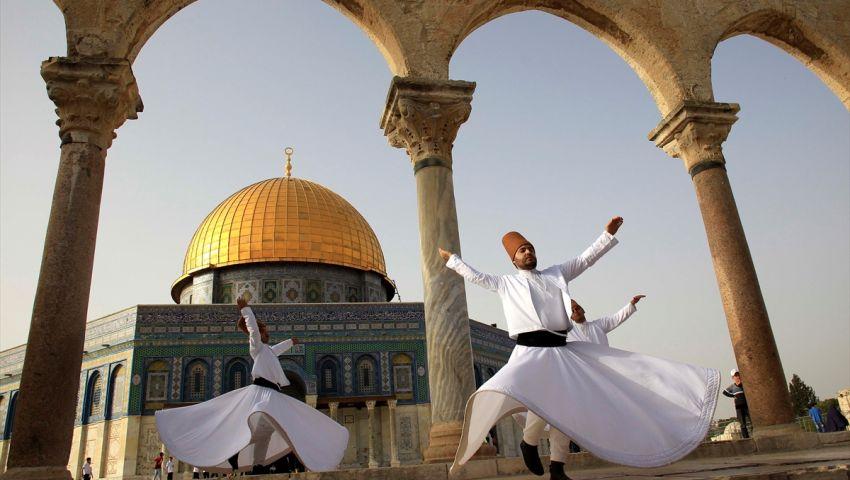 بالصور| احتفال موسم النبي موسى شرقي القدس