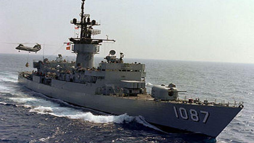 البحرية تضبط مركبًا أمام سواحل السلوم