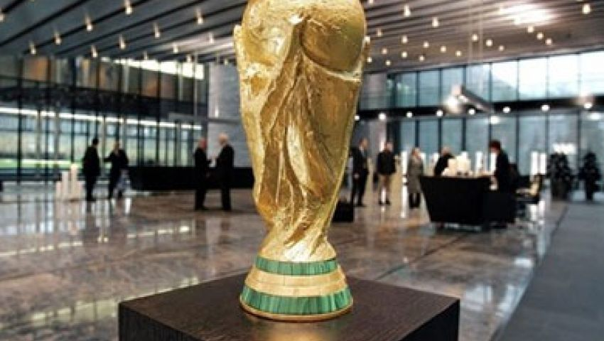 مصر تستقبل كأس العالم غداً