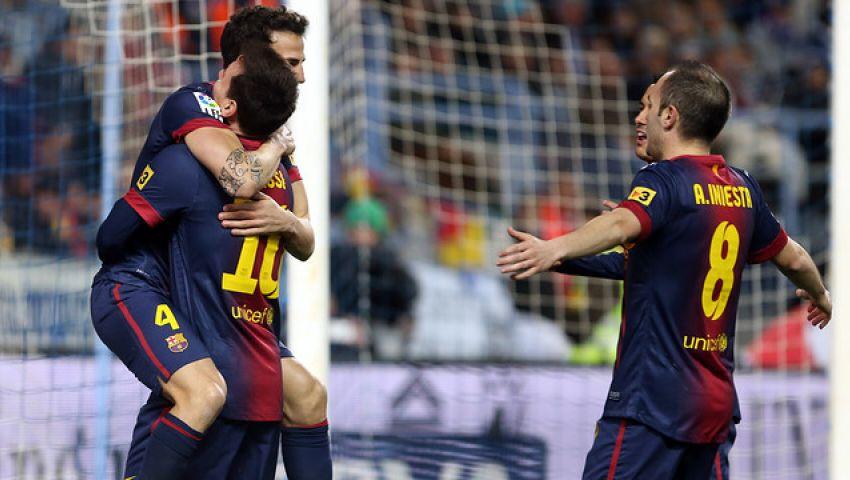 دوجلاس أساسياً لأول مرة مع برشلونة