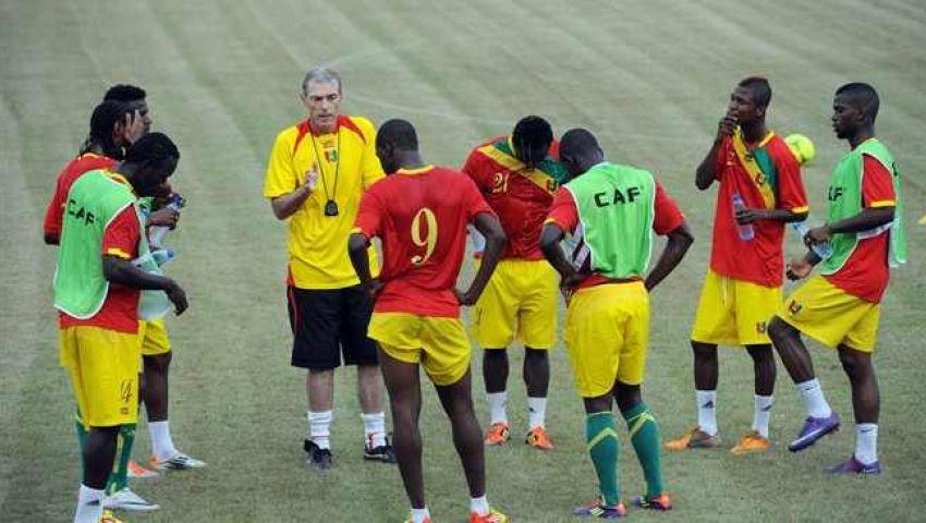 منتخب غينيا يصل مصر خلال ساعات