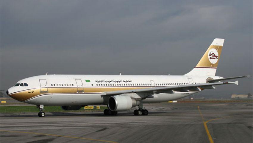 هبوط اضطراري لطائرة ليبية في القاهرة لإنقاذ راكبة