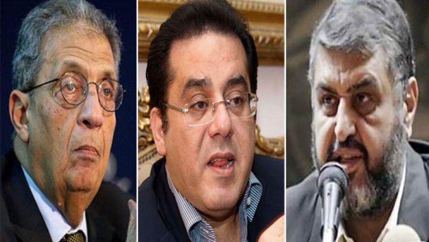 الحرية و العدالة : أيمن نور صاحب دعوة لقاء الشاطر بموسى
