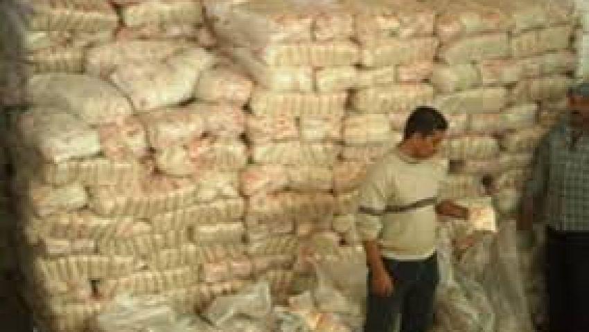 ضبط 20 طن سكر غير مطابق للمواصفات بقنا