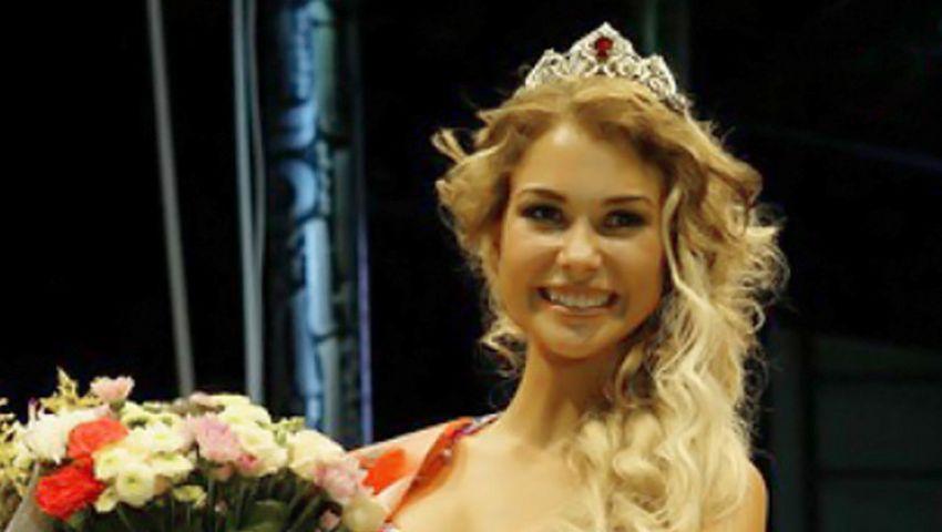 تكريم فتاة موسكوفية بلقب ملكة البيكيني