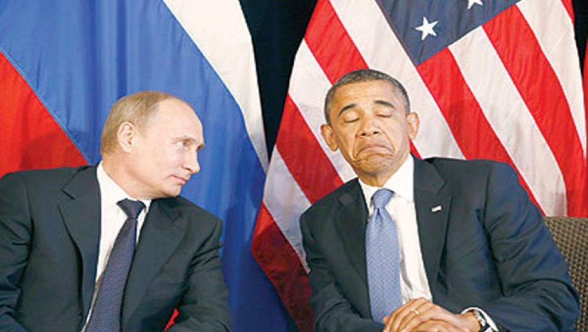بوتين يحذف أوباما من فيس بوك
