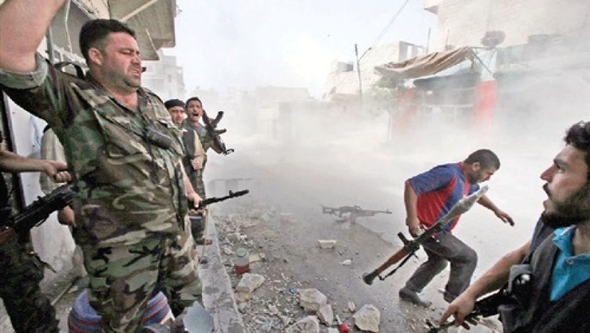 الائتلاف السوري: نظام الأسد قصف اليرموك بأسلحة كيماوية