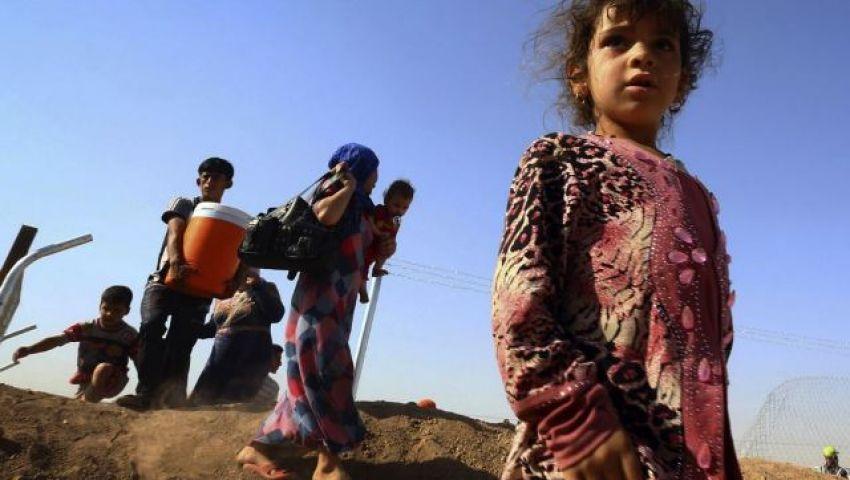 وفاة 52 طفل نازح نتيجة الحر الشديد