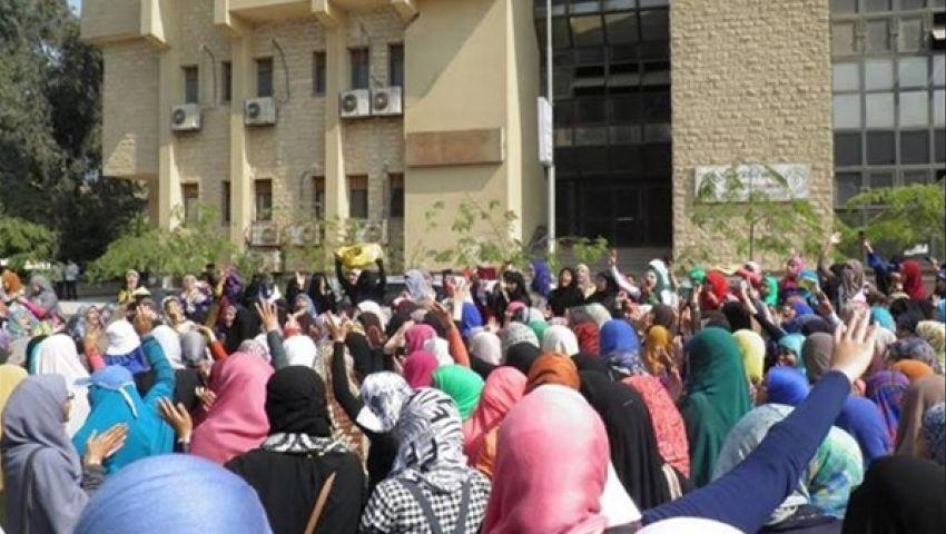 طلاب جامعة القناة: تأجيل الدراسة تخبط وخوف من الحراك الطلابي