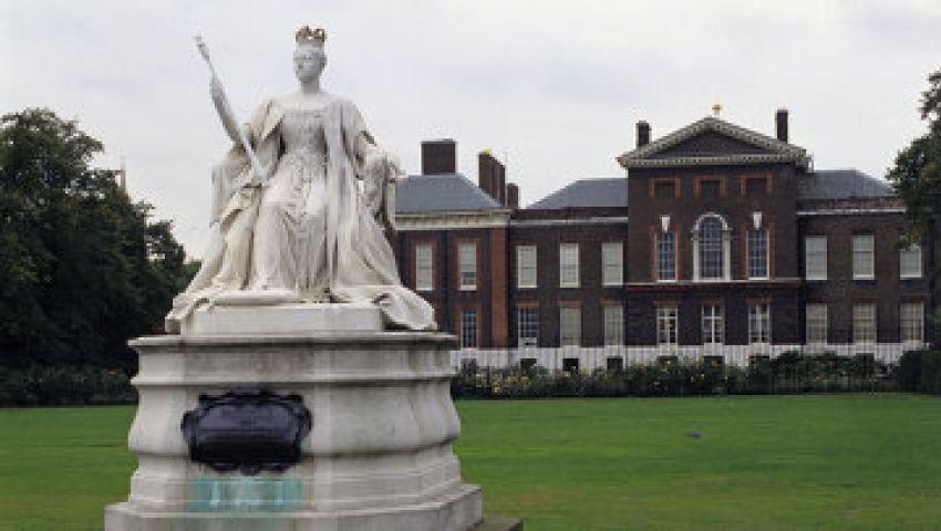 قصر ملكة بريطانيا يستضيف مباراة للكرة