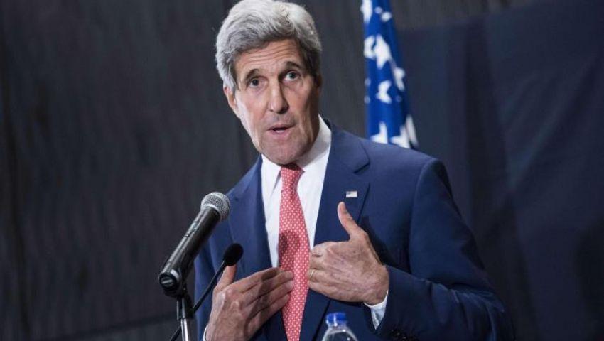 سفارة أمريكا بالقاهرة: طول الرحلة والفعاليات سبب خطأ كيري في اسم مصر