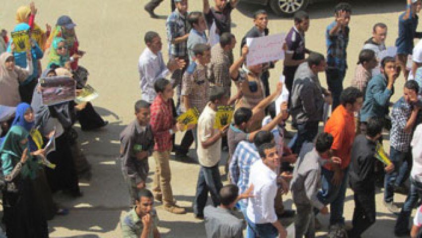 الجيش يهاجم مسيرة لرافضي الانقلاب بالسويس