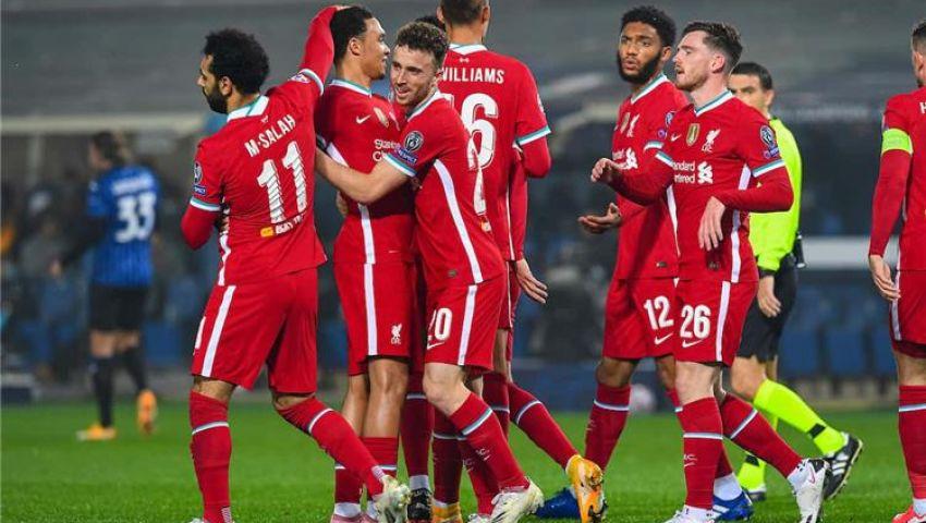 ليفربول يستضيف أتلانتا في لقاء حسم التأهل