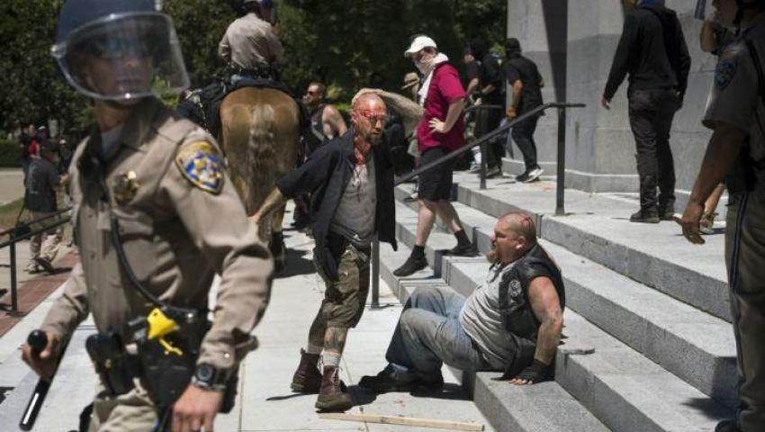 اعتداء على أشخاص أثناء مسيرة في كاليفورنيا