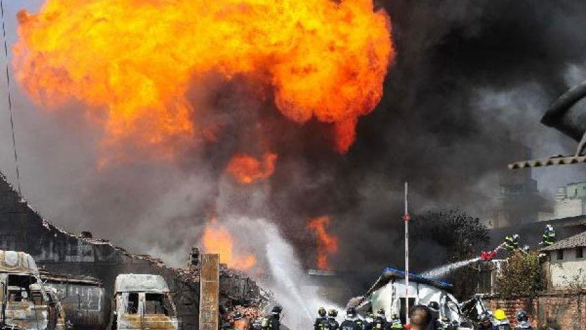 انفجار في مصنع للكيماويات في شانغهاي