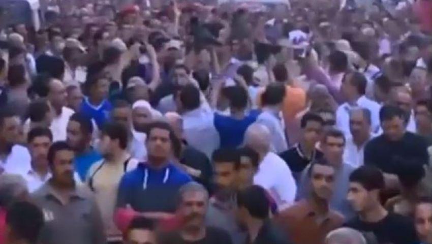 فيديو..مظاهرات تطالب بإعدام الأخوان