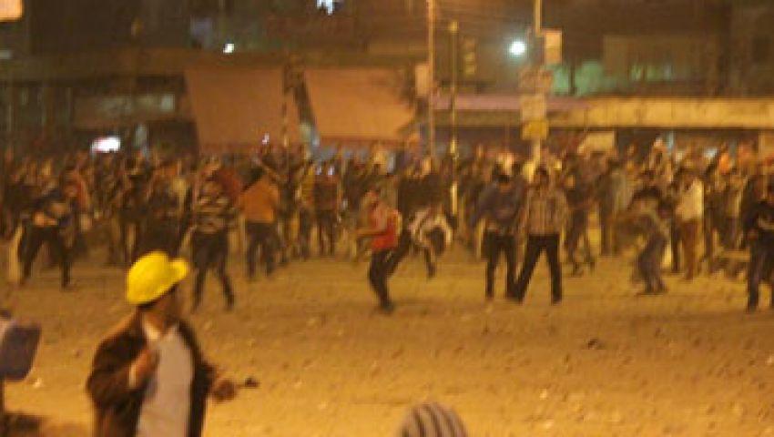 6 إصابات في اشتباكات بين مؤيدين ومعارضين لمرسي بالمحلة