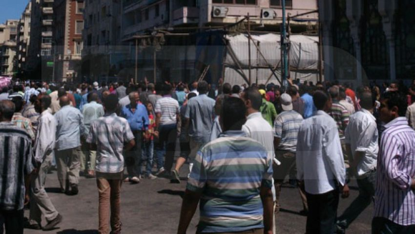 مناوشات بين أنصار مرسي ومعارضيه بالقائد إبراهيم