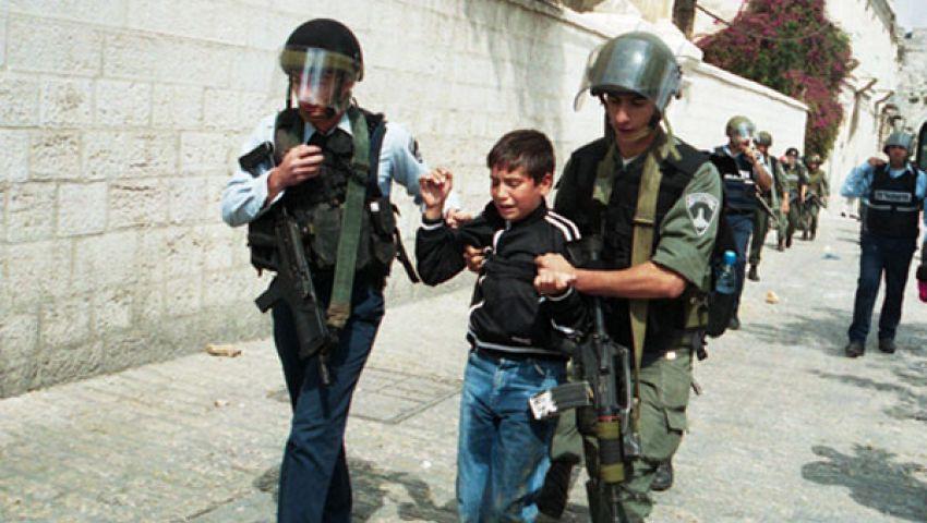 الاحتلال الإسرائيلي يعتقل 25 طفلاً فلسطينيًا