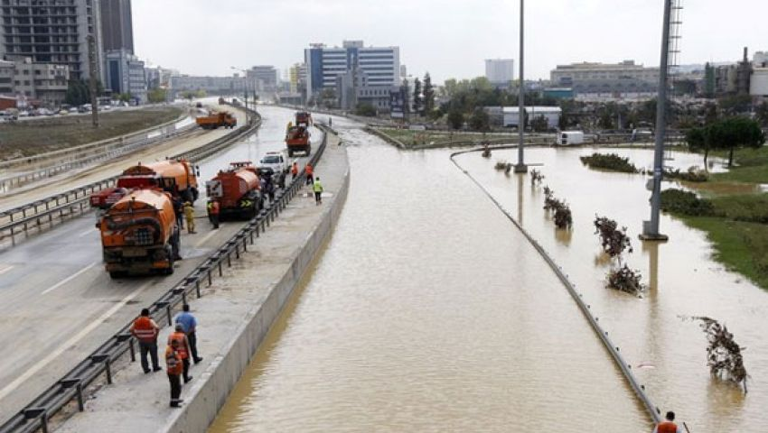مقتل وفقدان 14 مواطنا جراء فيضانات تركيا