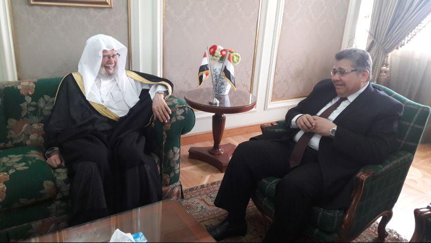 الشيحي يلتقي رئيس رابطة الجامعات الإسلامية