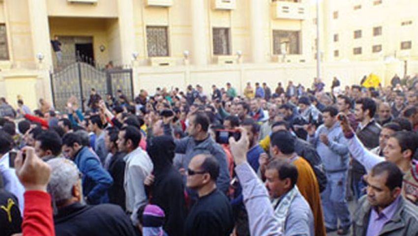 اعتقال 8 متظاهرين ضد النظام بالمنوفية