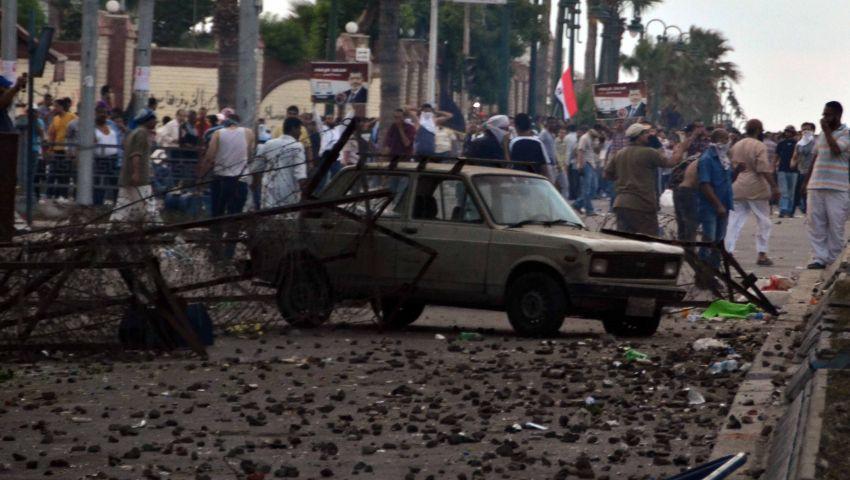 قتيل باشتباكات بين مؤيدي ومعارضي مرسي بالإسكندرية