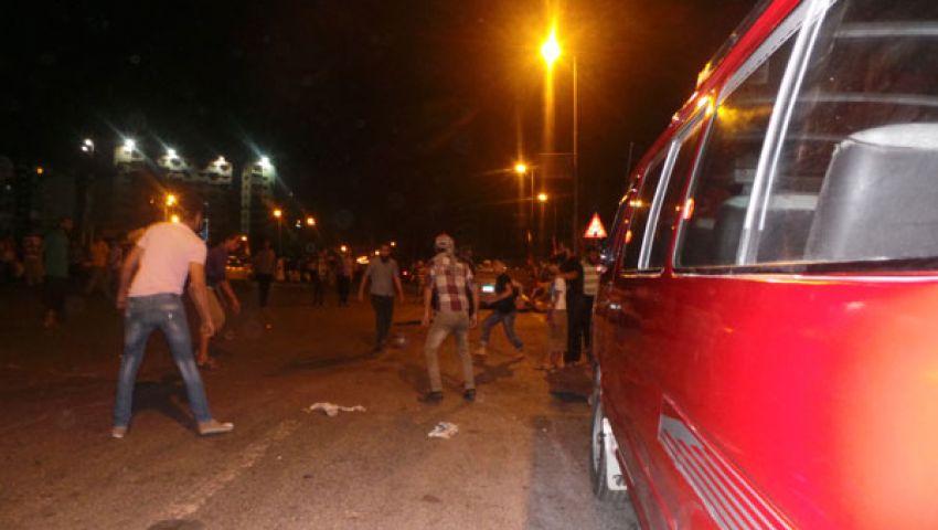 بالصور.. مباراة كروية لمعتصمي رابعة قبيل المجزرة