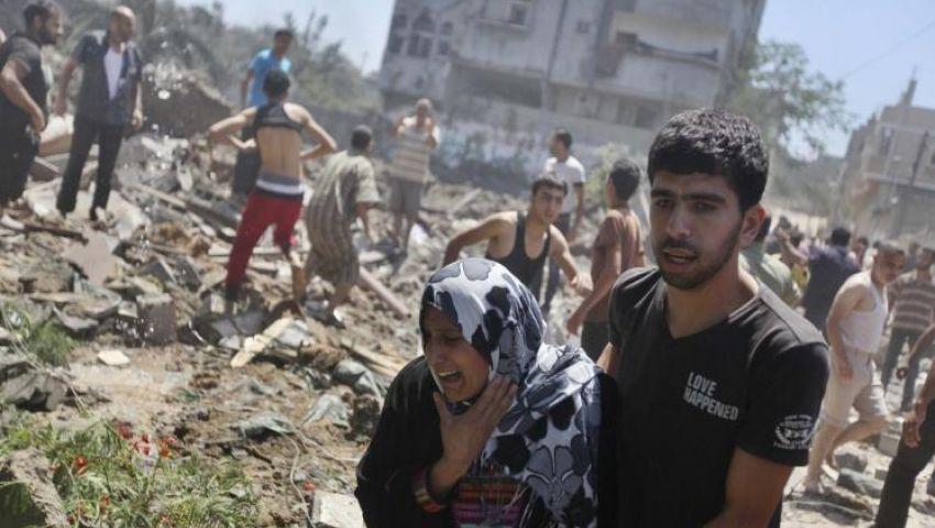 مزارعو غزة يتظاهرون رفضا للاعتداءات الإسرائيلية