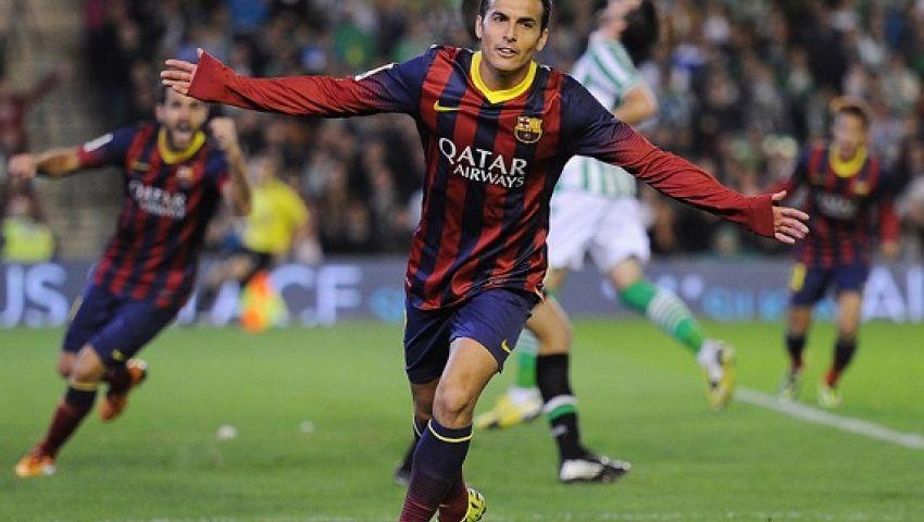 يوفنتوس يرغب في ضم بيدرو من برشلونة