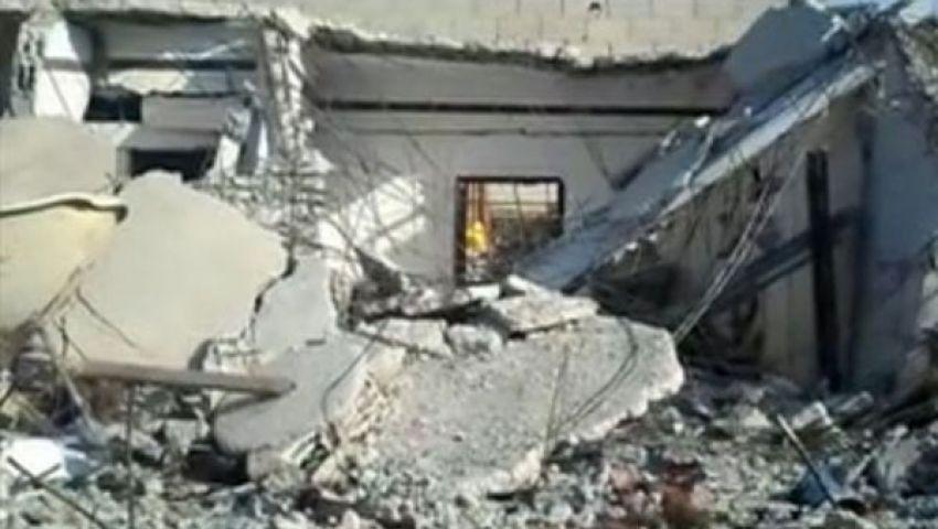 فيديو: الجيش يواصل هدم منازل برفح داخلها أنفاق