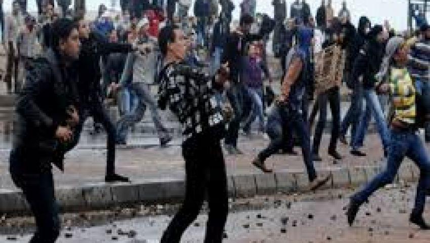اشتباكات بين مؤيدي ومعارضي مرسي بزفتى